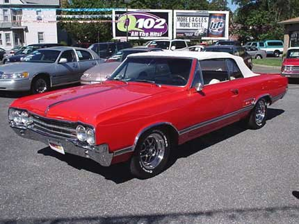 1965 Oldsmobile Olds 442 Picture