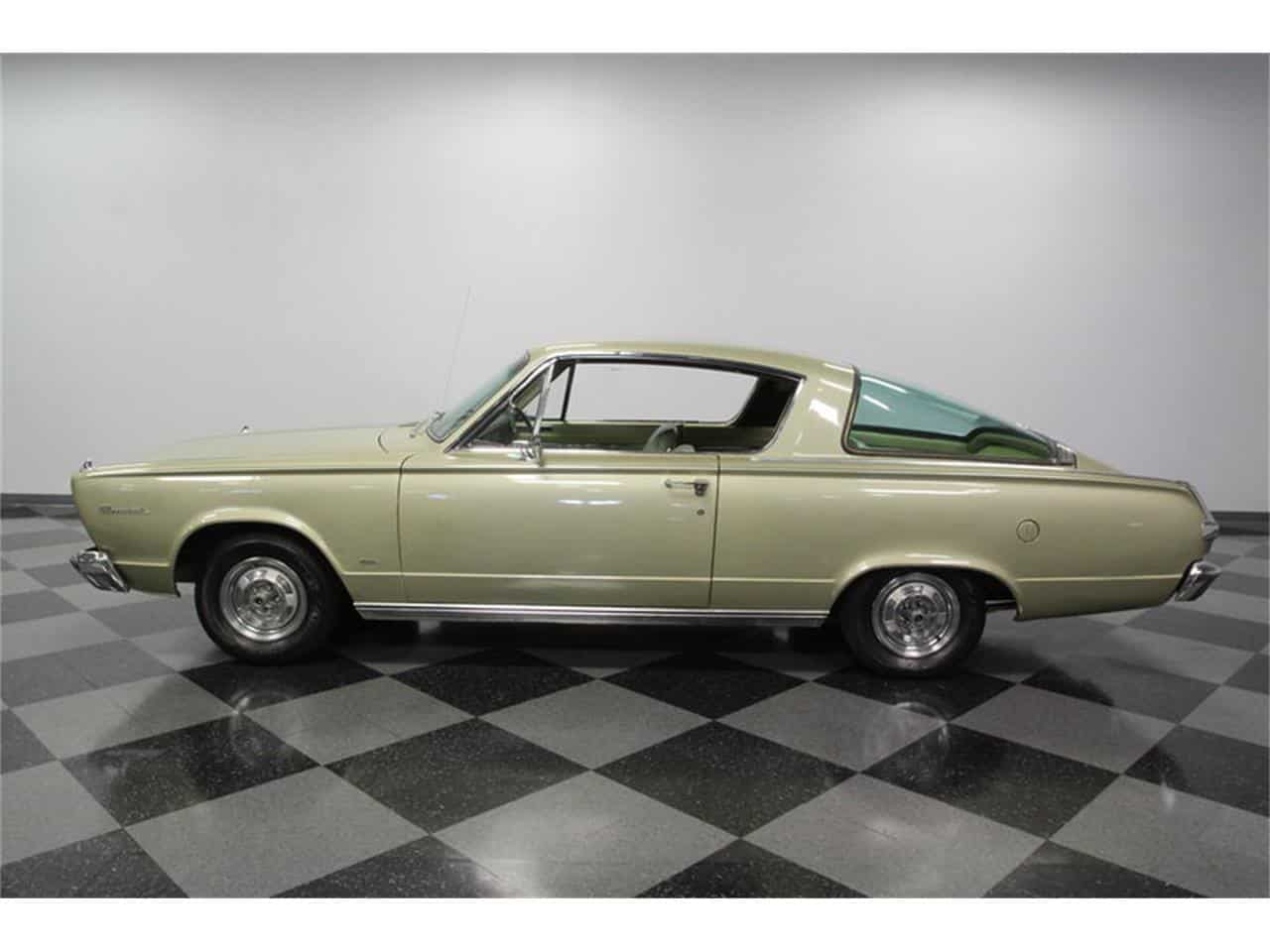 1966 Plymouth Barracuda - Muscle Car Facts
