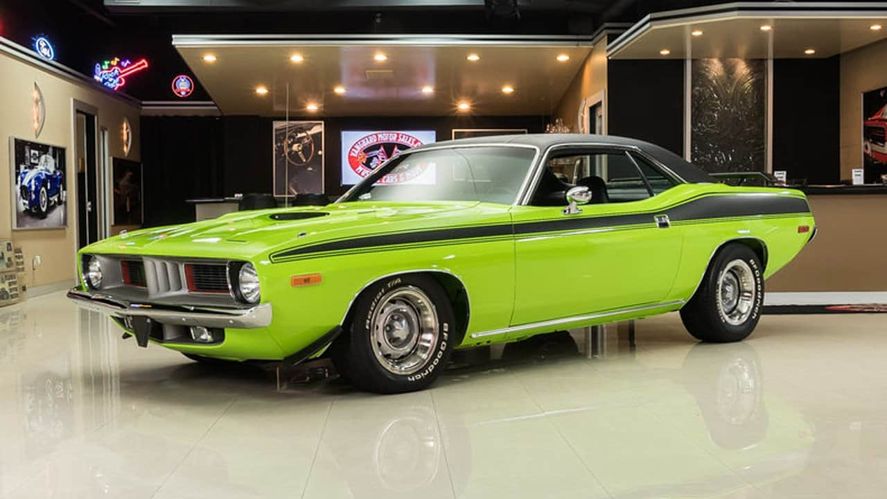 1973 Plymouth Barracuda - Muscle Car Facts