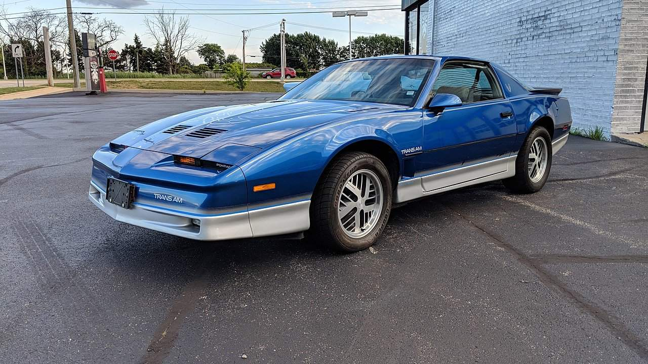 1986 Pontiac Firebird Muscle Car Facts
