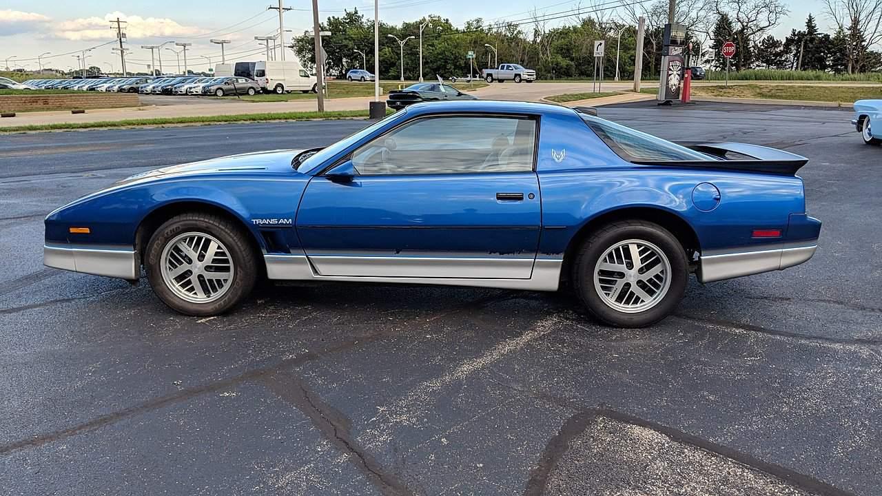 1986 pontiac firebird muscle car facts 1986 pontiac firebird muscle car facts